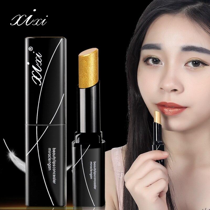 Beauty & Health Lipstick Knowledgeable Novo Xixi Makeup Moisture Shimmer Lipstick Batom Diamond Gold Lipstick Waterproof Metallic Glitter Lipstick Baby Lips Ac024 Fine Quality
