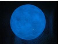 (100 mét) bóng sáng hình dạng trứng ngỗng màu xanh tự nhiên calcite glowing đá ngọc trai May Mắn Đá in the dark Mang Lại may mắn