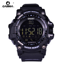 Sale New Sport smart watch buzzer sound alarm sport monitor IP67 waterproof burned calory men watch remote camera watches CASIMA EX16