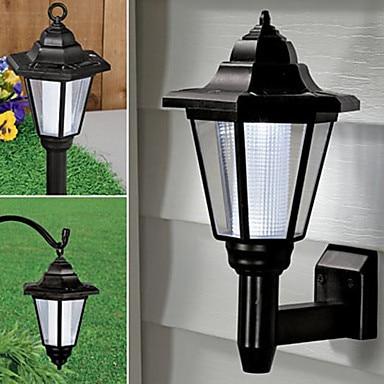Tuinverlichting Zonne Energie.Us 32 99 Solar Lampen Luminaria Luz Led Solar Licht Tuinverlichting Buitenverlichting Zonne Energie Led Wandlamp Voor Buitenverlichting In