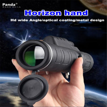 New Portable HandHeld Panda 35×50 Dual Night Vision Adjustable Zoom Monocular Telescope Travel Camping