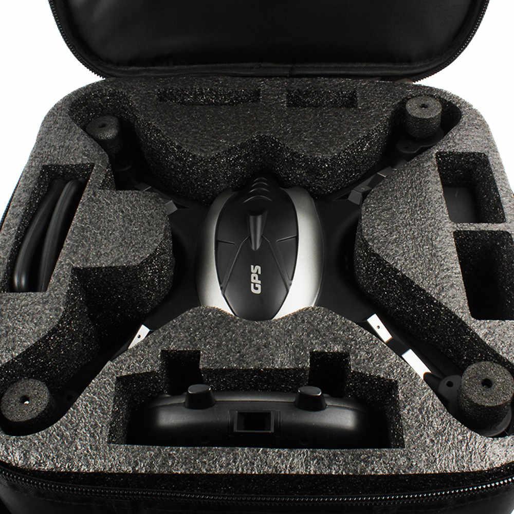 HINST 2019 Moda LH-X38G Dual GPS FPV RC Drone Com Câmera HD 1080 P Wi-fi Quadcopter + Mochila + Dois bateria Dec29