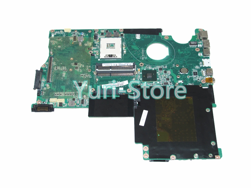 NOKOTION Laptop motherboard For Toshiba satellite X500 X505 A000053720 DATZ1CMB8F0 Main Board HM55 DDR3 with graphics slot nokotion for toshiba satellite l840 l845 laptop motherboard main board ddr3 daby3cmb8e0 a000174140 hd7670m 1gb