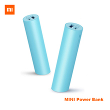 Original Xiaomi 18650 Batteries ZMI USB 3.6V 3000MAH MINI Portable Power Bank Rechargeable  for iPhone Android Smartphone