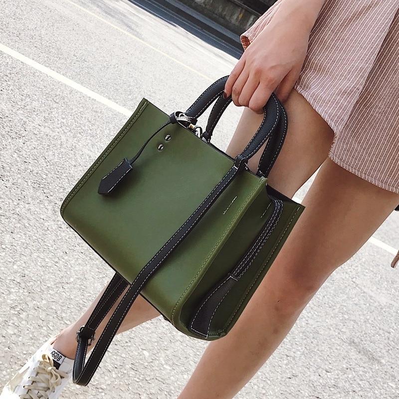 Jiessie & Angela women tote bag leather famous brand handbags vintage luxury designer shoulder bags casual messenger bags jiessie