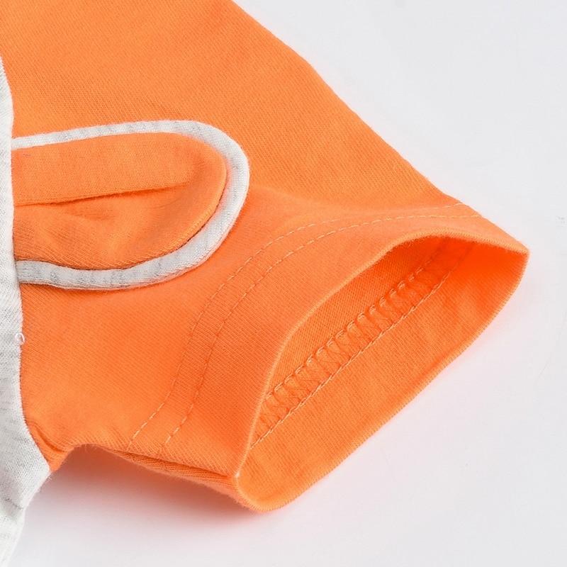 Niedźwiedź bawełniany Śpioszki dla niemowląt wokół szyi - Odzież dla niemowląt - Zdjęcie 4