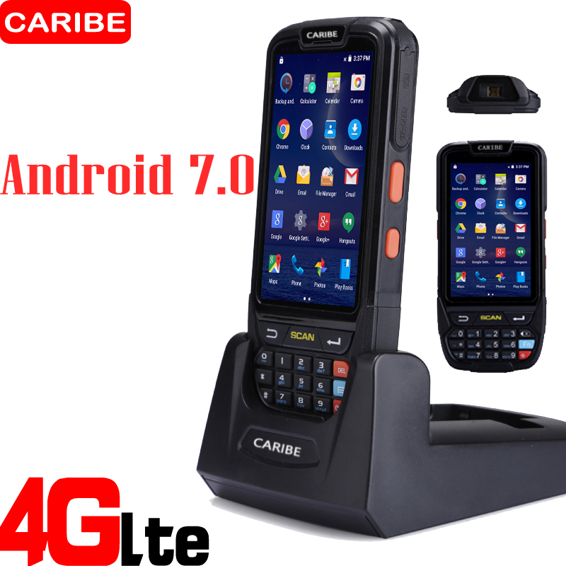 Caribe Handdled 1D штрих-код сканері Android PDA Wifi - Кеңсе электроника - фото 1
