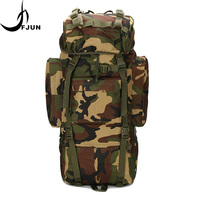 Large Capacity Internal Frame Oxford Waterproof Backpack Military Tactical Camouflage MOLLE Bag Outdoor Climbing Bags DG55