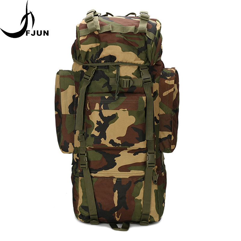 Large Capacity Internal Frame Oxford Waterproof Backpack Military Tactical Camouflage MOLLE Bag Outdoor Climbing Bags DG55Large Capacity Internal Frame Oxford Waterproof Backpack Military Tactical Camouflage MOLLE Bag Outdoor Climbing Bags DG55