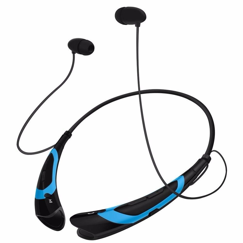 Sport sans fil bluetooth casque HBS760, 3D stéréo écouteurs V4.1 bluetooth casque, Neckband Style pour tous les téléphones