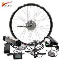Двигатель bafang колеса 36 в 250 Вт 350 500 Электрический велосипед Conversion Kit с 10AH 12AH литиевая батарея 26 700C 28 Ebike комплект