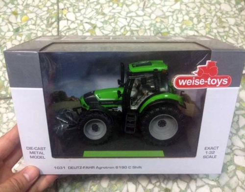 Weise-toys 1/32 Scale Die-Cast Metal Model 1031 DEUTZ-FAHR Agrotron 6190 C Shift nowley nowley 8 6190 0 1
