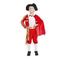 Kids Halloween Cosplay Masquerade Costume Childrens Matador Clothes Mens Bullfight  Spanish Dress For Boy Girl