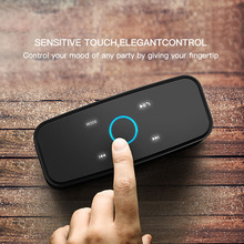 Wireless Bluetooth Box Speaker with Touch Control