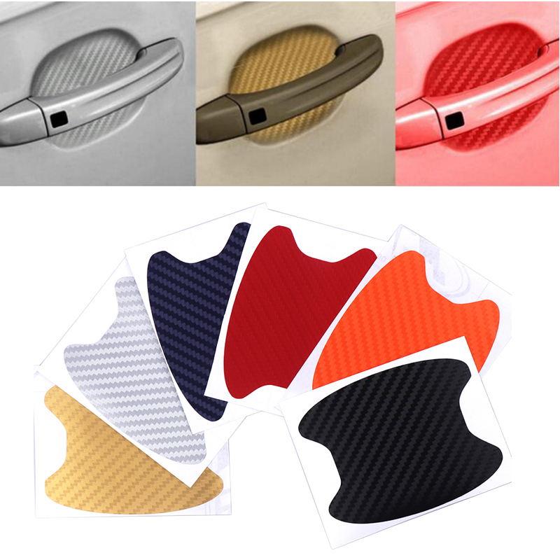 4pcs/lot Car Handle Protection Film Universal Invisible Car Carbon fiber Door Handle Stickers Scratches Resistant Sticker-in Car Stickers from Automobiles & Motorcycles on Aliexpress.com | Alibaba Group