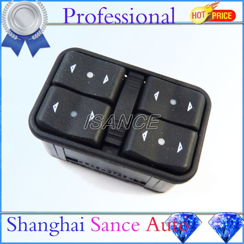 ISANCE Master Power Window Switch 90561086 6240106 Vauxhall Opel Astra G Zafira 1998 1999 2000 2001 2002 2003 2004 2005 - Shanghai Sance Auto Part Co., Ltd. store