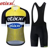 2019 neue etixx Männer Radfahren Jersey Radfahren Kleidung Sommer Kurzarm Jersey Pro Team Racing MTB Rennrad Hemd Ropa ciclismo-in Fahrrad-Sets aus Sport und Unterhaltung bei