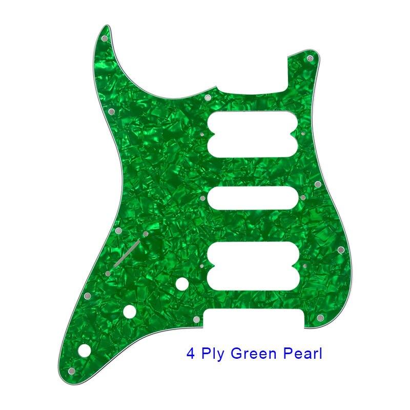 4 ply green pearl st hsh pickguard