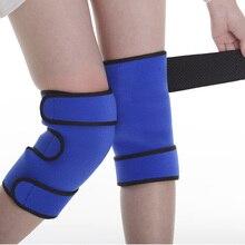 Новый вид более комфортабельные турмалин магнитная колено поддержки brace protect your knee and pain relief