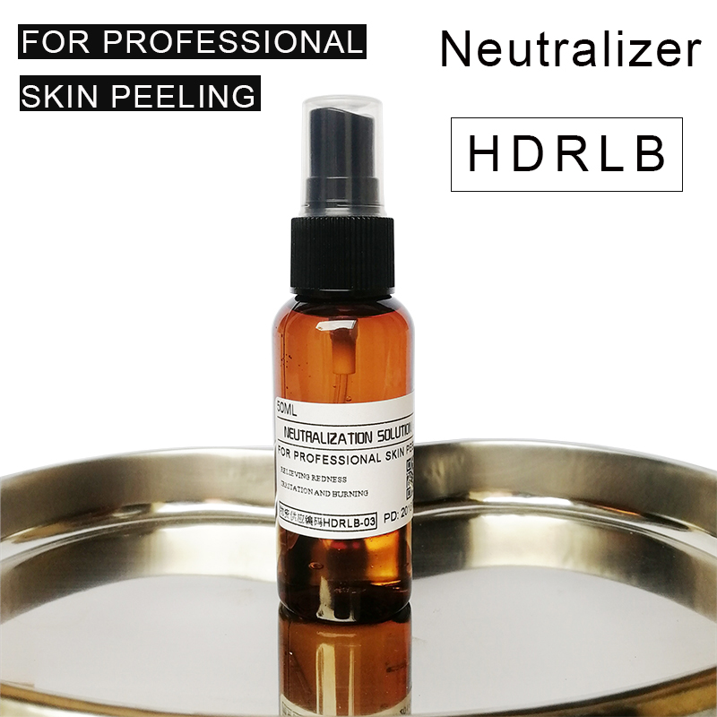 Facial Peel Neutralizer Stops Action Of Chemical Peel Soothes Skin Prevents Burns