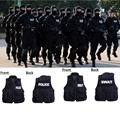 Free shipping Black SWAT Airsoft Paintball Tactical Accessories Equipment Combat Assault Vest