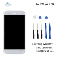 High Quality For ZTE Blade X7 D6 V6 LCD Display Touch Screen Digitizer For ZTE Blade X7 V6 T660 T663 LCD Screen LCD Free Tools