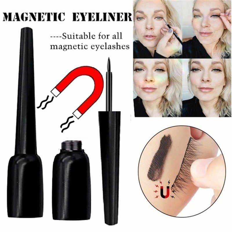 Magnetic Eyeliner with Magnet False Eyeashes Set Hand Made Waterproof Natural Easy To Wear Lashes Extension Makeup Tools