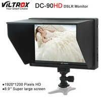Viltrox DC-90 HD 8,9 ''Super Großen Bildschirm 4K IPS LCD HDMI AV Eingang Kamera Video Monitor Display für canon Nikon DSLR BMPCC