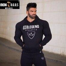 Mens fashion marke hoodies turnhallen Fitness bodybuilding Sweatshirt Crossfit pullover sportbekleidung männliche freizeitjacke kleidung
