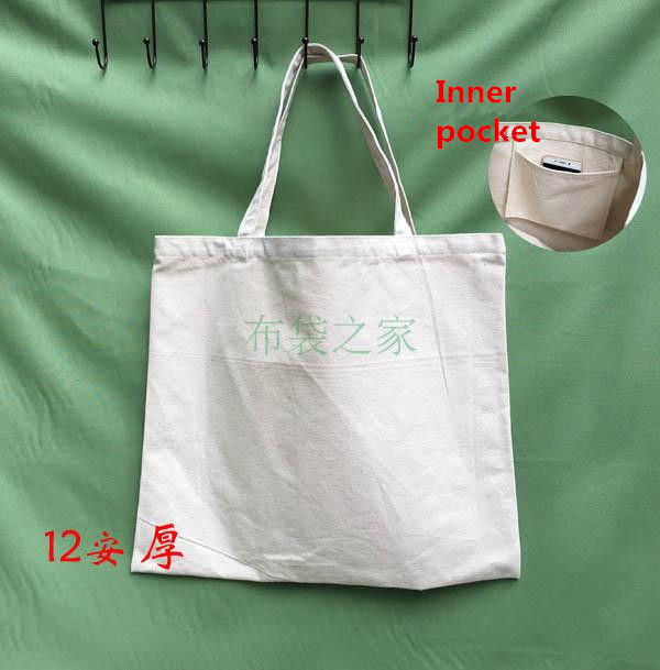 10pcs lot50 45cm Cotton Custom Business Logo Maker Shopping Bags With Logo Custom  Printed Totes Reusable Produce Promotional bag 88b6c3bdc