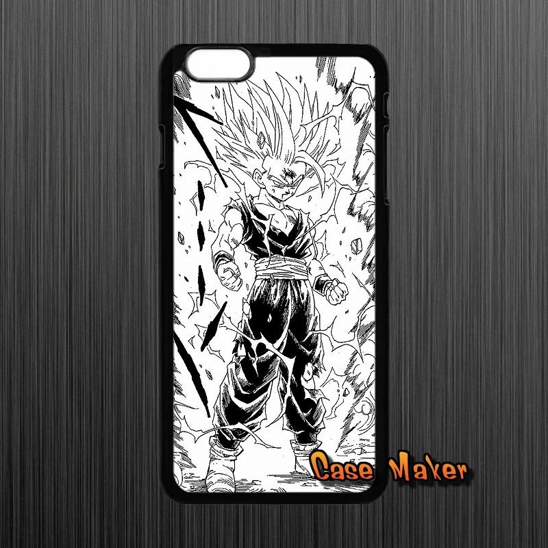For HTC One M7 M8 iPhone 4 4S 5 5C 5S 6 6S Plus iPod Touch 4 5 LG G2 G3 G4 Japanese Cartoons Anime Dragon Ball Z Cover Case