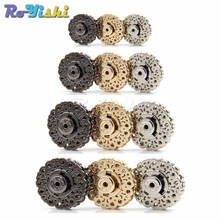 Snap-Fasteners Clasps-Button Parts-Accessories Metal Handbag Bags Craft for Purse Wallet