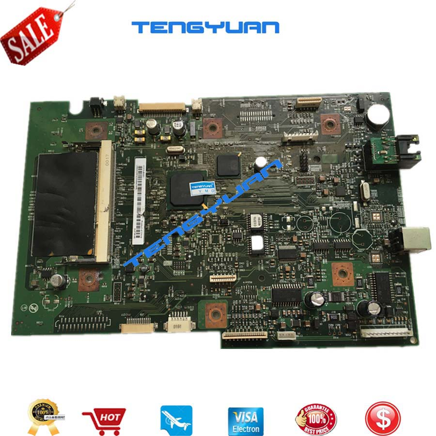 Original Free shipping 100% Test laser jet For HP2727 M2727 M2727MFP Formatter logic Board CC370-60001 printer part on sale free shipping new original formatter board jc9202529a for samsung clp 4195 logic board motherboard printer parts on sale