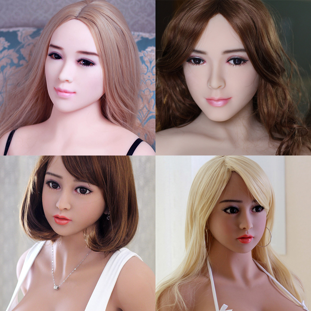 Hanidoll Sex Dolls Head for dolls Height 140~170cm Real silicone Love Doll Heads With Oral sex For Men sex dolt heads Sex Toys top quality oral sex doll head for japanese realistic dolls realdoll heads adult sex toys