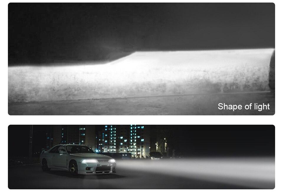 AVACOM 8000K 4300K H7 LED Bulbs H4 LED Car Headlight H1 H8 H9 H11 9005 HB3 9006 HB4 12V 8000LM Auto Headlamp LED 3000K 6500K 60W (18)