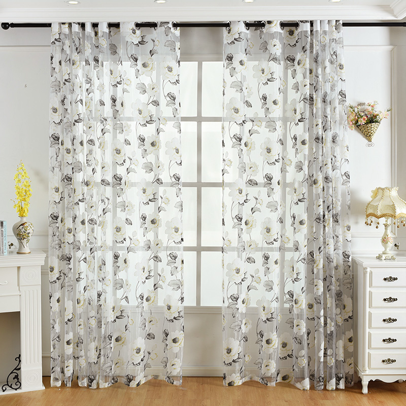 panel gray print butterfly gold tulle window from smartstoredh balcony smad curtains curtain product divider sheer room