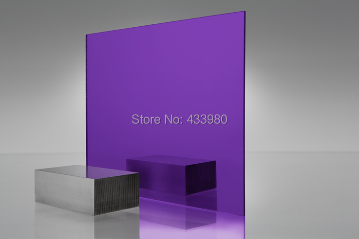 600mm x 300mm x 3.0mm acrílico (PMMA) plexiglás 1 cara espejo ...