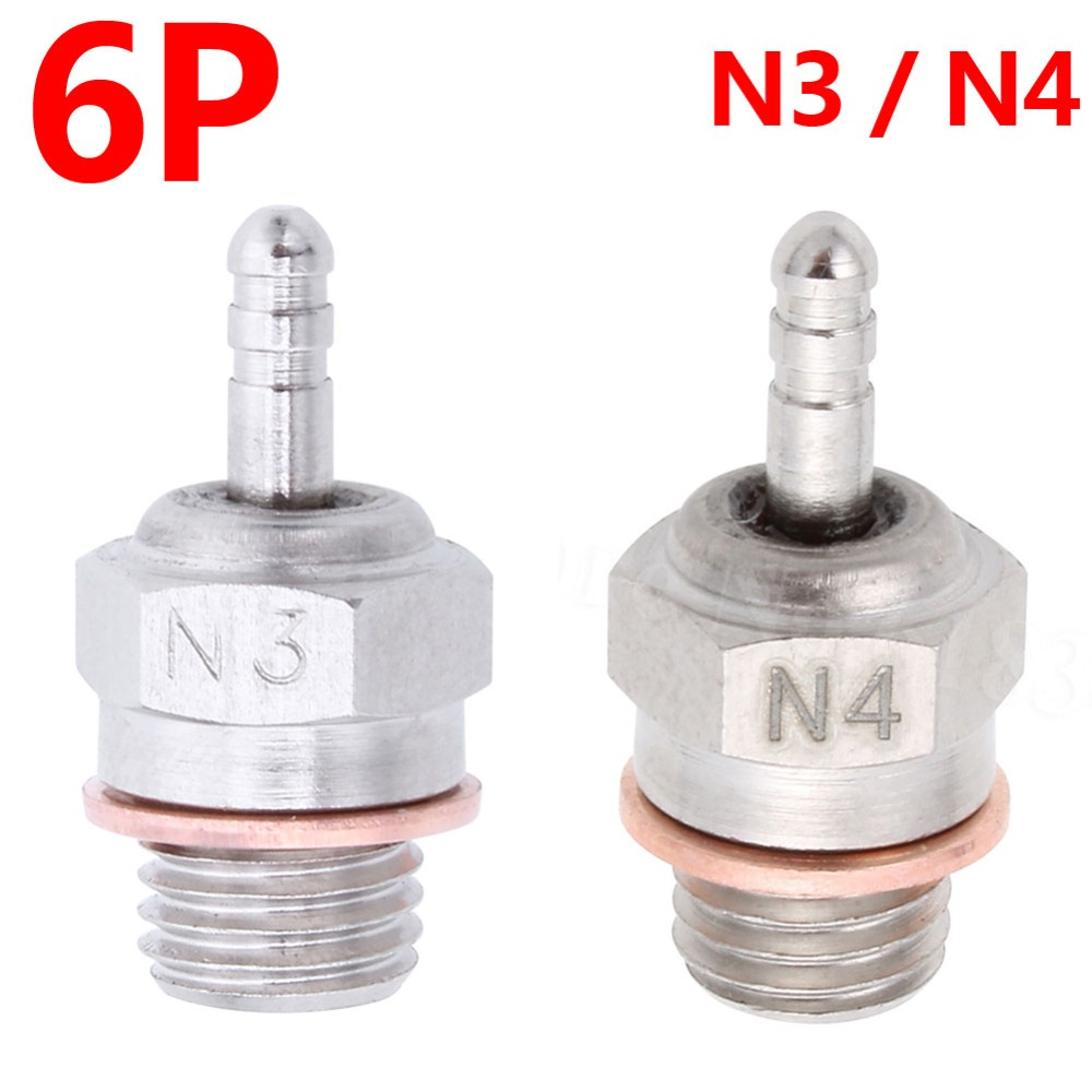 6pcs / lot Nitro žarulja N3 N4 Hot Spark 3 # 4 # Zamijenite OS 8 za - Igračke s daljinskim upravljačem