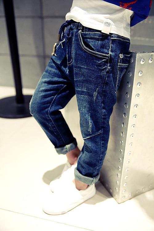 2017 Frühling Winter Kinder Jeans Dick Hosen Jungen Jeans Warme Kinder Jeans Für Jungen Casual Denim Hosen 5-12y Kleinkind Hoch Qualität Weich Und Leicht