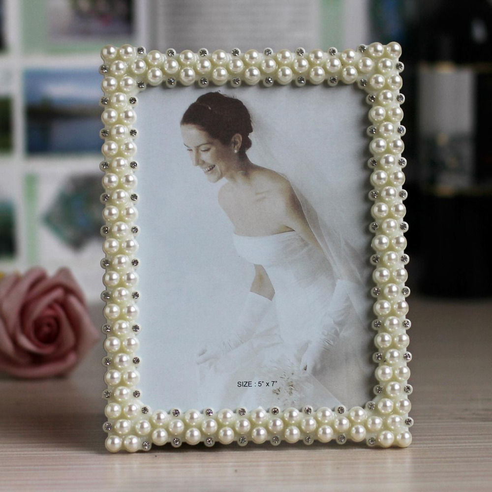 Hot Special Offer Picture Frame Photo Frames With Pearls and ...