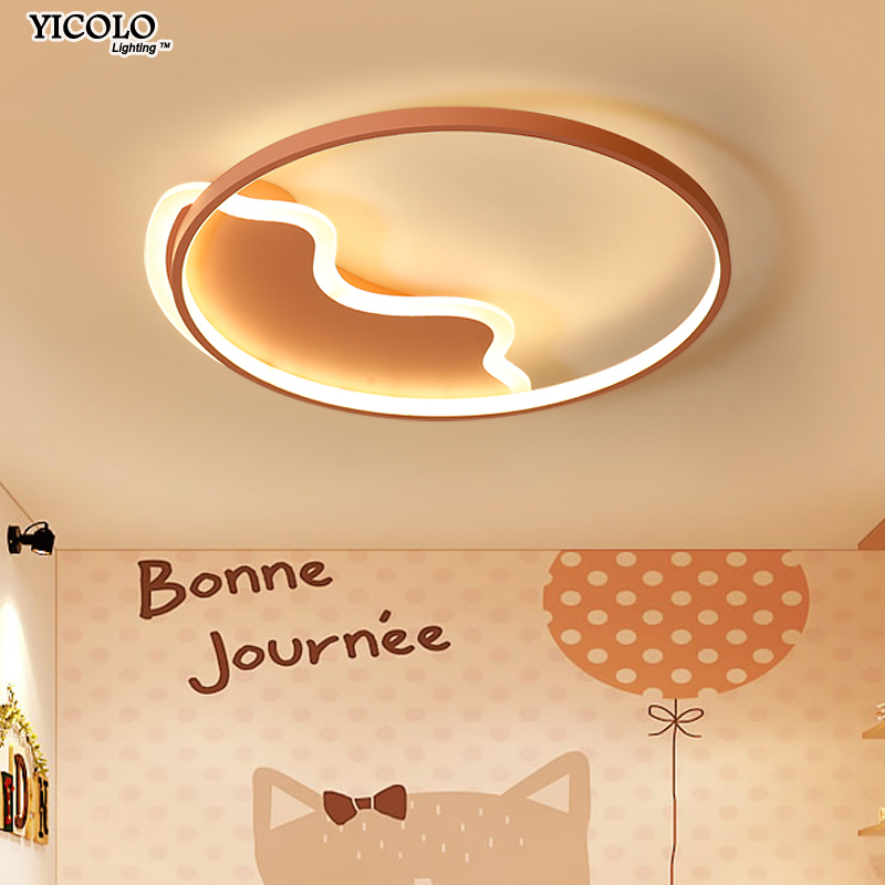 Modern Led Ceiling Lights remote control For Living Room baby bedroom cloud heart round shape lamparas de techo abajur colorful hot free shipping modern led ceiling lights for living room bedroom abajur dimmable remote control lamparas de techo