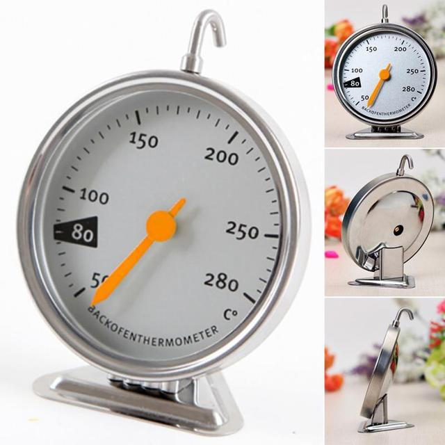 Kitchen Clocking Food Meat Temperature Stand Up Dial Oven Thermometer Gauge Gage kitchen Accessories