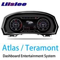 LiisLee Instrument Panel Replacement Dashboard Entertainment Intelligent System for Volkswagen Atlas Teramont 2017 2018 2019