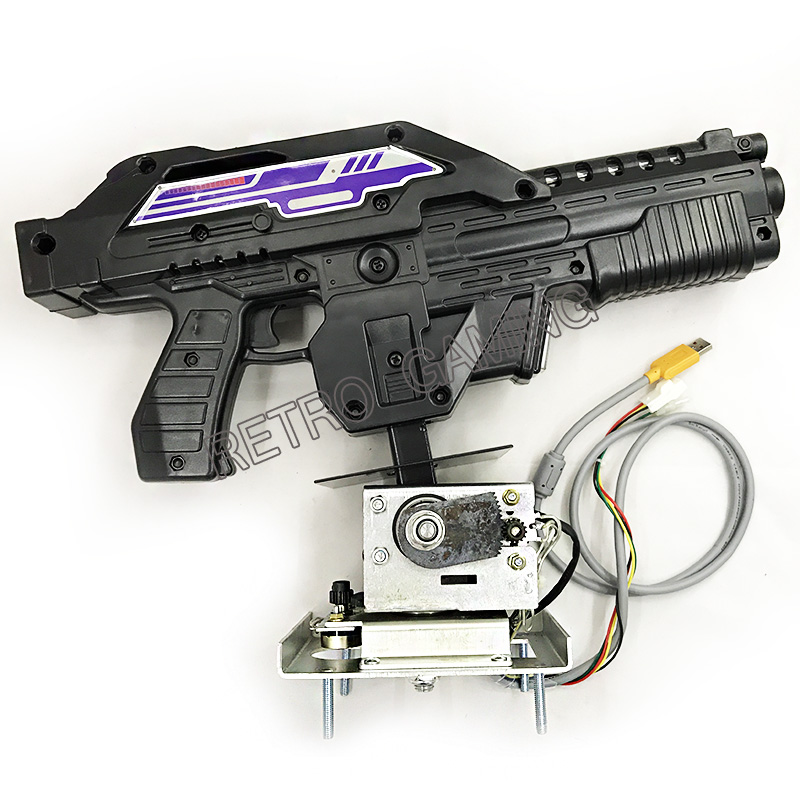 Gun For Aliens Extermination Shottting Machine Shooting Game Gun For Pc Motherboard Converting Aliens Video Arcade Game Machine