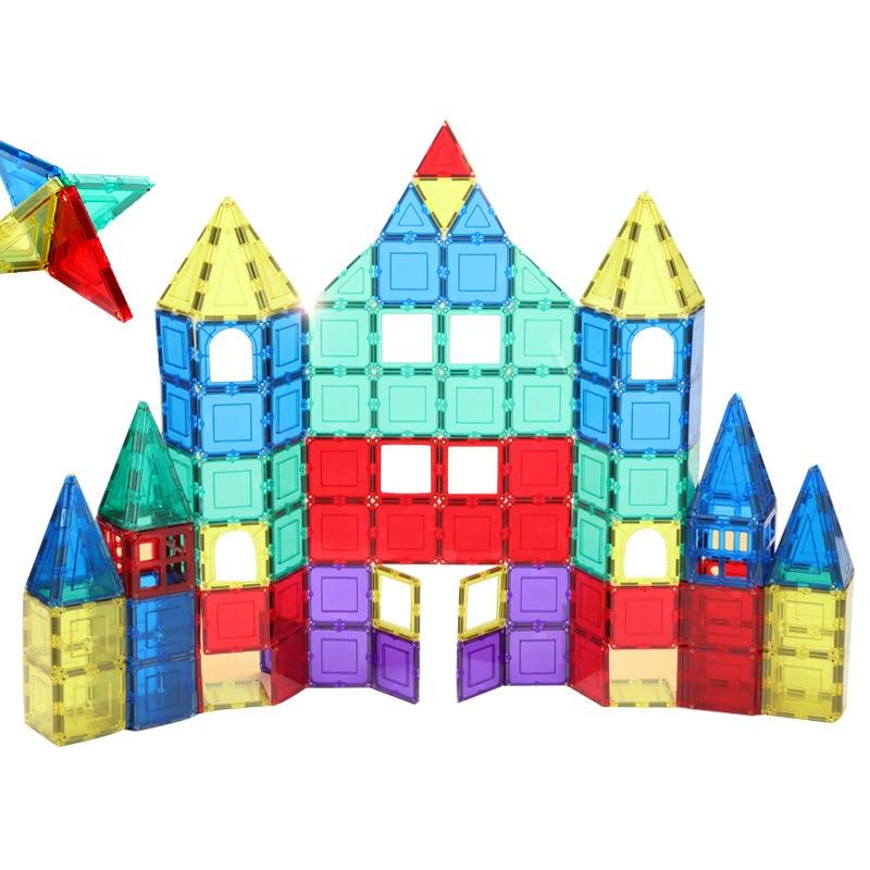 Magnetic Designer Construction Set Model & Building Toy Plastic Magnetic Blocks Educational Toys For kidsMagnetic Designer Construction Set Model & Building Toy Plastic Magnetic Blocks Educational Toys For kids