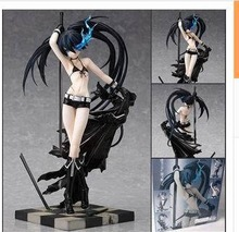 New PVC Action Figure Black Rock Shooter Japanese Sex Hot Toys Doll For Children Beauty Figure Baby Toys High Quality 25cm