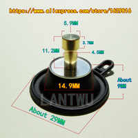 (1 pcs/pack) YM Virago XV400 Vmax 1200 motorcycle carburetor shut-off valve small diaphragm (thick shaft)