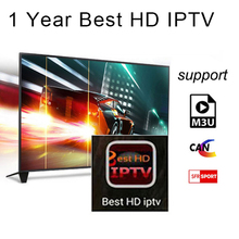 1 Année Arabe Français ROYAUME-UNI Europe IPTV Italie code 1800 + Canaux pour Android USB Wifi TV Box