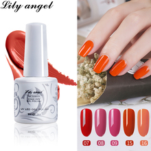 Lily angel UV&LED Gel Nail Polish 9ml Long Lasting Varnish 2018 New Art Supplies Perfect Fast Dry 38 Color 1-24