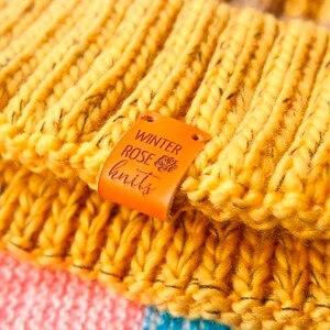 Image 1 - Etichette personalizzate, Personalizzato Tag, Tag, Con Amore, In Pelle Tag, personalizzato tag, maglia etichette, nome personalizzato, Fatto A Mano (PB1502)